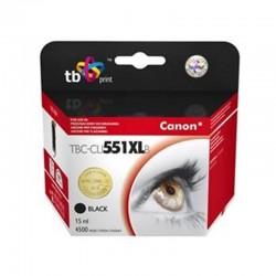 Inkoustová náplň TB Canon CLI-551XL kompatibilní - černá