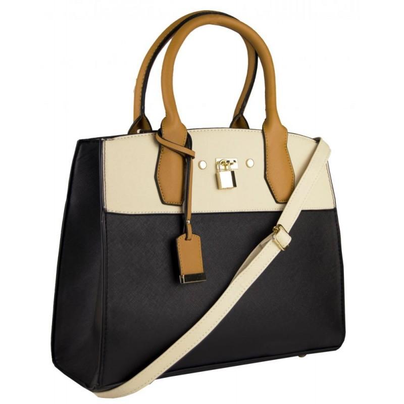 Elegantní kufříková kabelka b07b2065e79