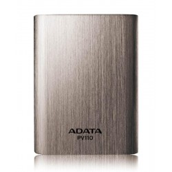 Powerbanka ADATA PV110 Power Bank 10400mAh titanová