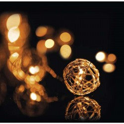 10LED XMAS COPPERBA.1M IP20 WW
