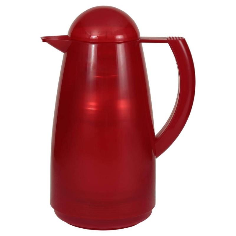 Plastová termokonvice Merkutec 1l - červená Merkutec