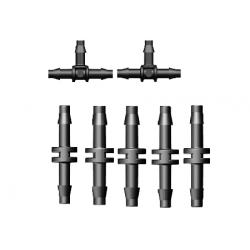 Připojovací konektory 6mm Garden Diamond, BL5 (1bal.7ks)