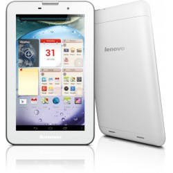 Tablet Lenovo IdeaTab A3000, 16GB, slot na SD a dual SIM - bílá