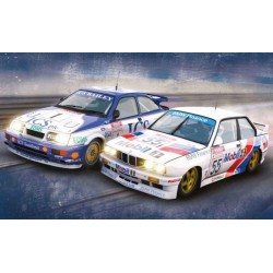 Autíčko Limited Edition SCALEXTRIC C3693, Ford Sierra RS500 a BMW E30