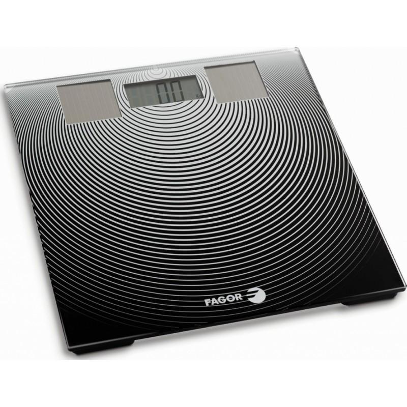 Osobní váha Fagor BB-175 - bílá/černá Fagor