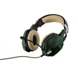 Sluchátka Trust GXT 322C - zelená