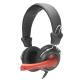 Sluchátka NGS Vox 360dj - černá