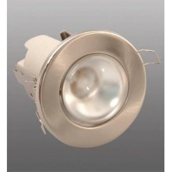 Nehybné bodové svítidlo Brilum R-63S, 60W - stříbrná