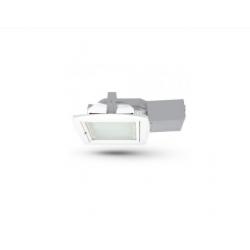 Stropní svítidlo s reflektorem Brilum Guad 13D 2x13W - bílá