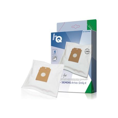 Náhradní sáčky do vysavače 4ks, Bosch/Siemens Arriva - Smiley K, W7-52325/HQN
