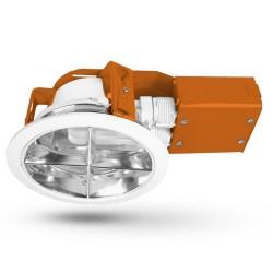 Stropní lampa s reflektorem Brilux 8036C - oranžová