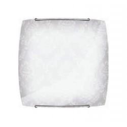 Nástěnná lampa Brilum Topia 20D, 60W - bílá