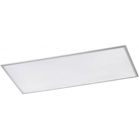 Stropní panelové LED svítidlo Wofi Milo, 60W - stříbrná, bílá