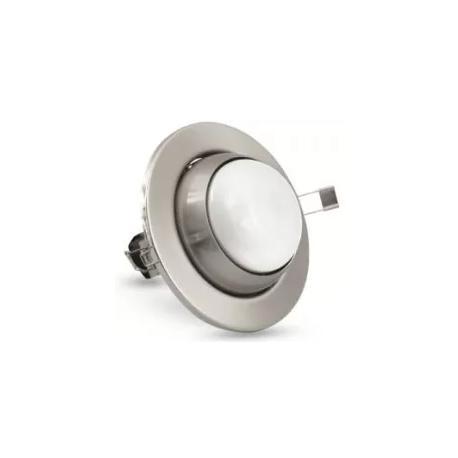 Pohyblivé bodové svítidlo Brilum R-80R - stříbrná