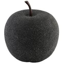 Zahradní dekorace Jablko Greemotion 25x28,5cm, černá
