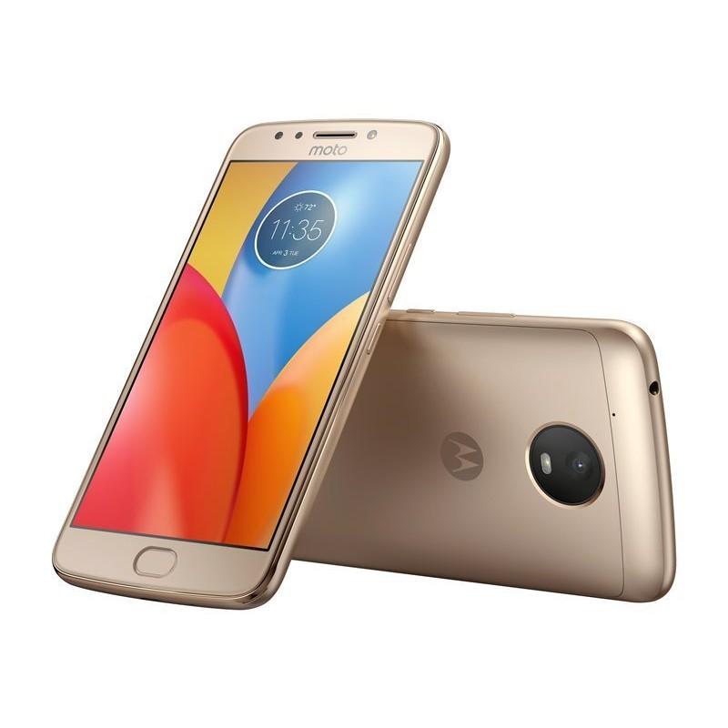 Mobilní telefon Motorola Moto E4 Plus XT1771 (PA700032ES), 16GB, Dual SIM - zlatá Motorola