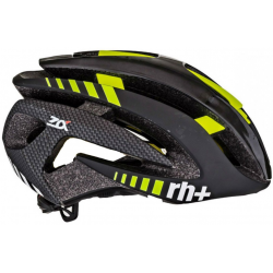 Cyklistická helma rh+ Zalpha L/XL- černá - žlutá