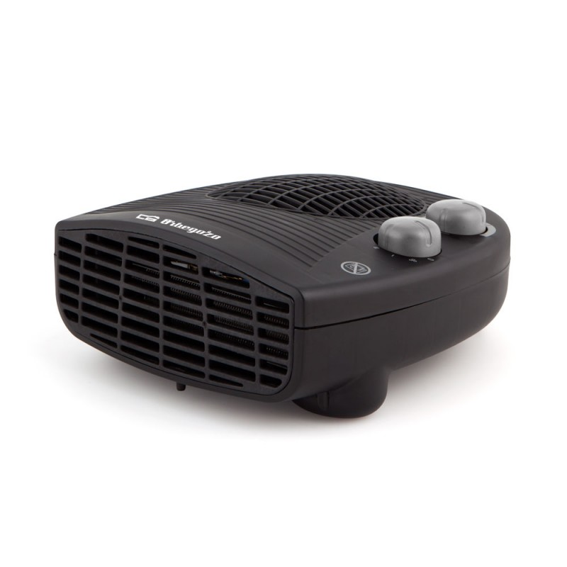 Teplovzdušný ventilátor 2v1 Orbegozo FH 5028, 2000W, černá Orbegozo