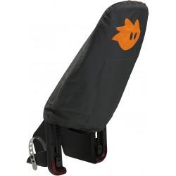 Ochranná plachta na dětskou cyklosedačku Thule Yepp Maxi, černooranžová