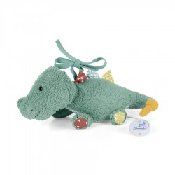Hudební plyšová hračka na spaní Sterntaler Krokodýl Konrad, vel.S