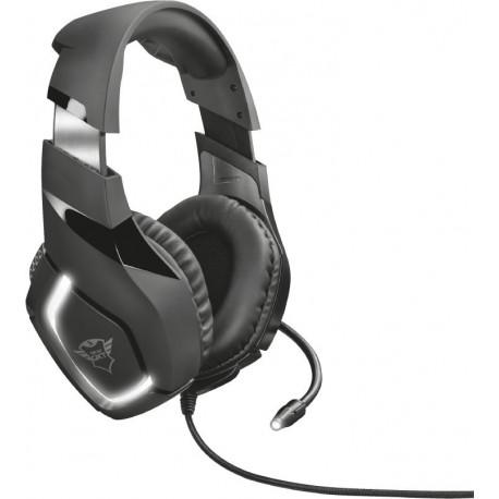 Herní sluchátka Trust GXT 380 DOXX, černá