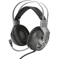 Herní sluchátka s mikrofonem Trust Ironn GXT 430, stříbrná