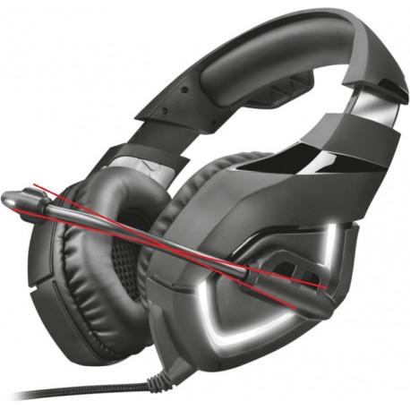 Herní sluchátka bez mikrofonu Trust GXT 380 DOXX, černá