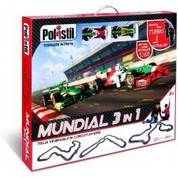 Autodráha Polistil Mundial 3in1 - 96124