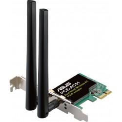 Externí síťová karta s WIFI Asus PCE-AC51, Wireless-AC750