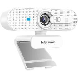Webkamera Jelly Comb H606 Full HD 1080p, bílá