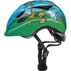 Dětská cyklistická helma Abus 08144-6, 52-57cm, zelená