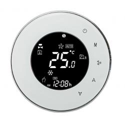 WiFi Smart dotykový pokojový termostat, 16A, bílý