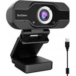 Webkamera TedGem CE0248 - 01 Full HD, černá