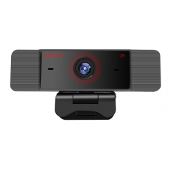 Webkamera s mikrofonem 2K, černá