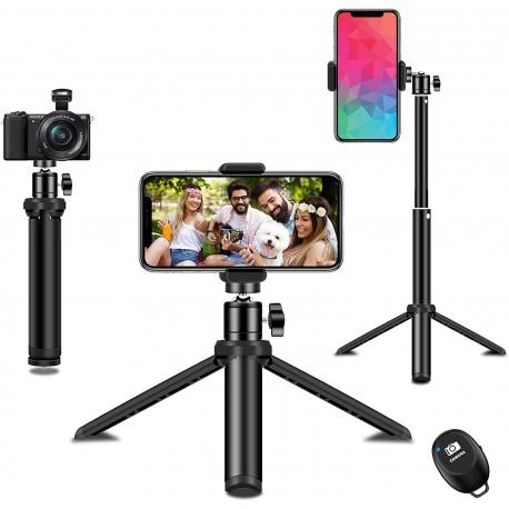 Selfie tyč a stativ Syosin SJJPM-0001, černá