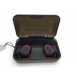 Bezdrátová sluchátka s nabíjecím pouzdrem Bakibo S3 PRO, černá